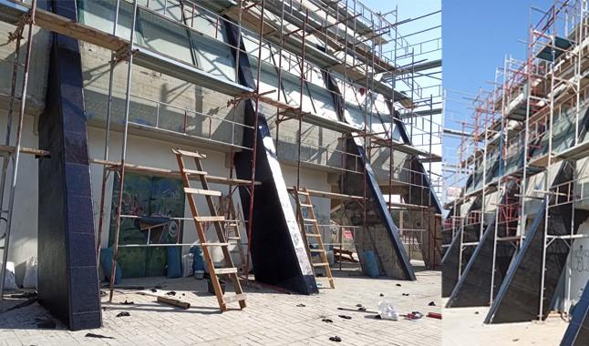 Για πρώτη φορά μετά την παραλαβή του Κλειστού Γυμναστηρίου Βριλησσίων ο Δήμος υλοποιεί έργα ολιστικής Επισκευής και Συντήρησής του