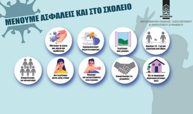 Δήμος Βριλησσίων, Μένουμε ασφαλείς και στα σχολεία